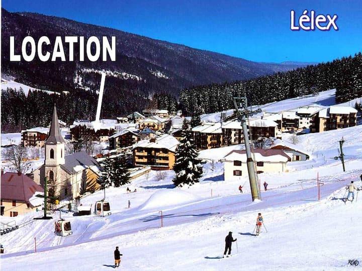 Lélex-Jura, 2 Pces 28 m² 4 Pers à 200m des pistes