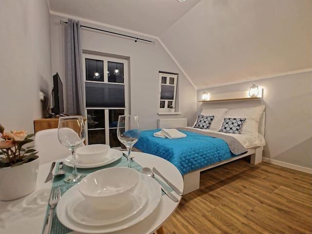 Apartament 2-osobowy 190 metrów od plaży