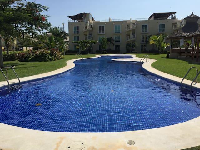 Marina Diamante. Beautiful apartment roof garden