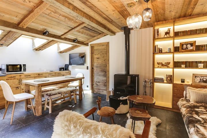 Magnifique Appartement 3P au Cœur de Megeve !