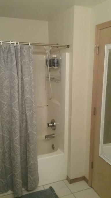 Bath downstairs