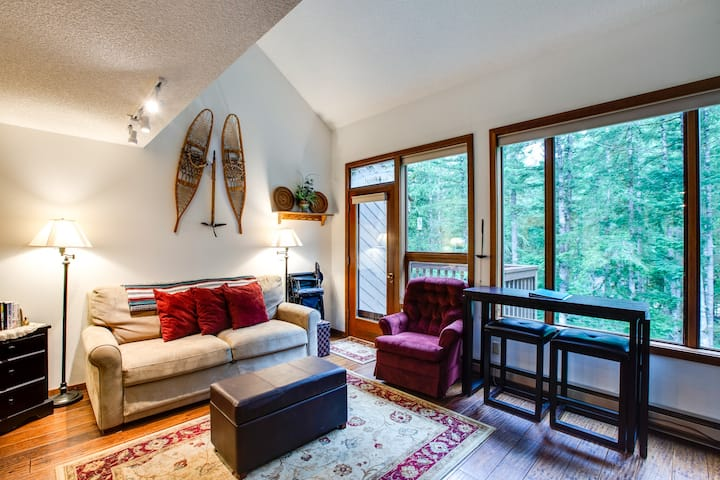 🎿 Snowater Family Condo #61-FIREPLACE-D/W-W/D!❄️