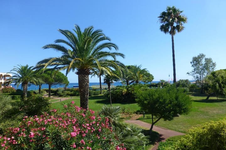 Comfortable Apartment 50m from the beach - Villeneuve-Loubet - Flat