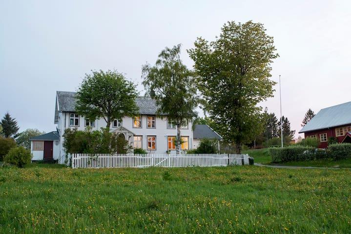 Nydelig herregård i Flatanger