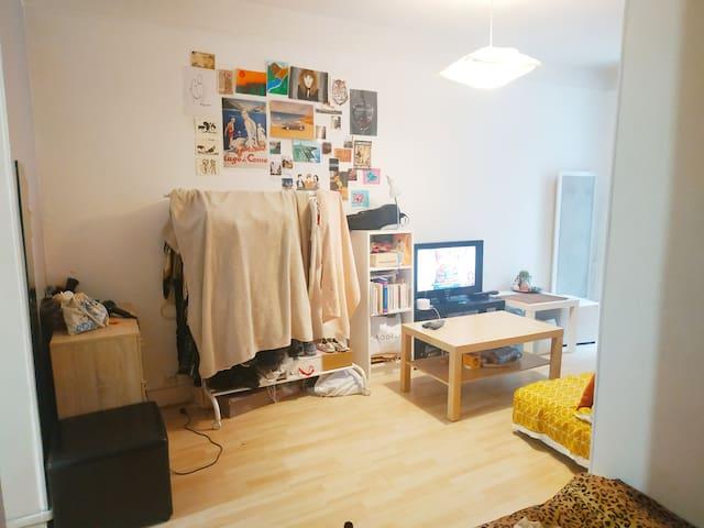 Petit studio rdc cœur de ville Écusson