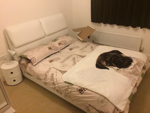 Ensuite Room (with a Kingsize Bed) - Knowle, Fareham - Apartamento