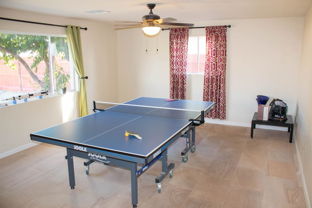 Unlimited ping pong games!