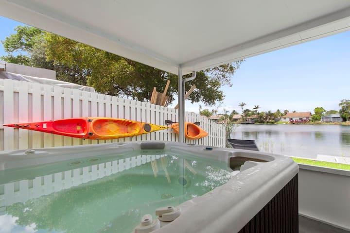 3/2 lake House With Hot Tub Near Hard Rock Casino