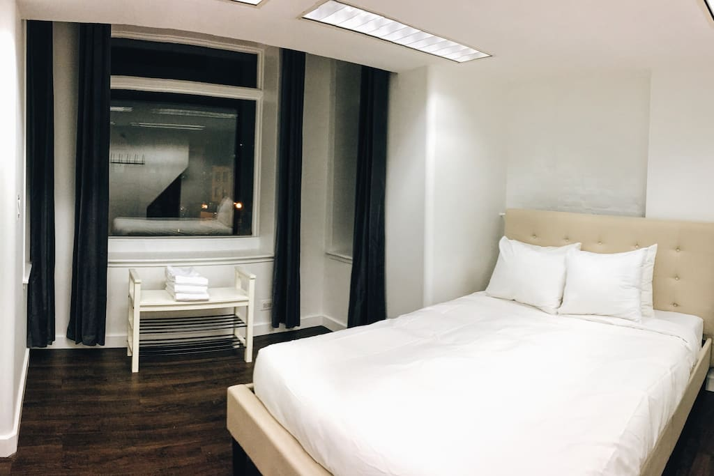 Lower Level with Queen-Sized Bed