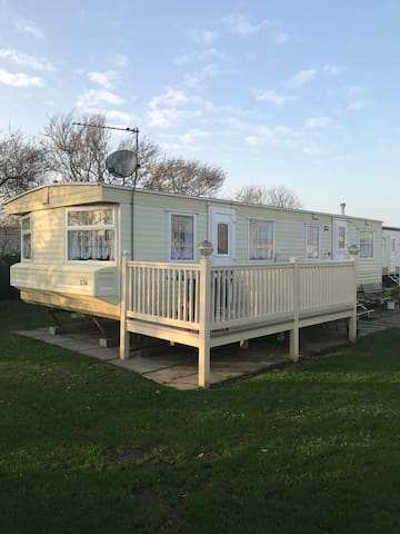 Coles Caravan on Skipsea Sands Holiday Park
