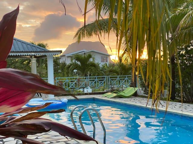 Marisa Résidences, idyllic setting for relaxation