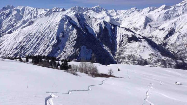 Chalet 3 Vallées,St Martin Belle,les Menuires.