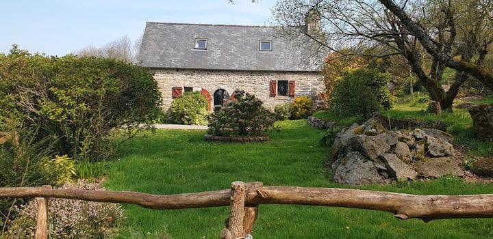 Joli cottage à 10mn de la mer en Bretagne