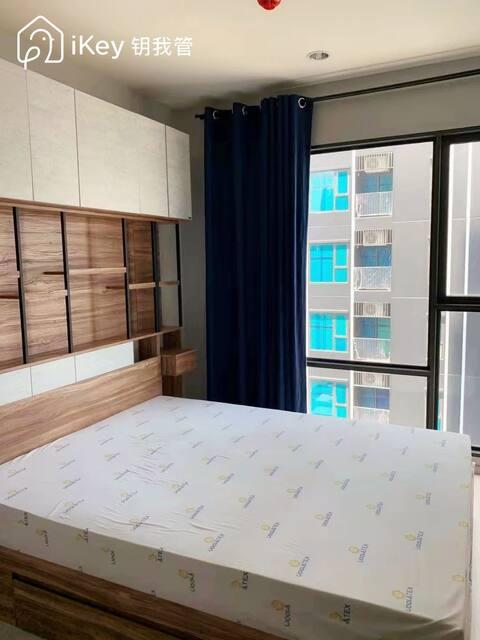 Phra Ram9 MRT สถานีพระราม 9 convenient two bedroom