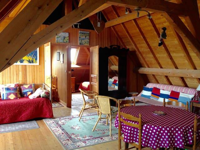 Appartement chaleureux dans un château Futuroscope
