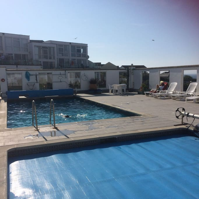 2 heated pools including a baby pool, April to October