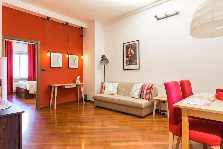 JAZZ BULLDOG Suite | Metro M3 Duomo - Милан - Квартира