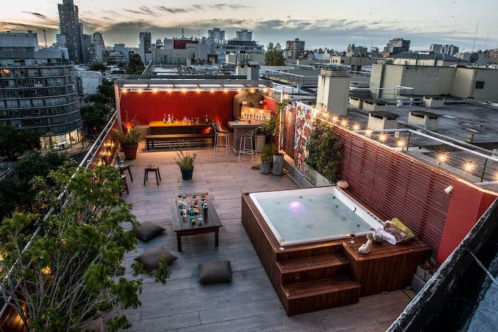 life is great...with a private terrace like this