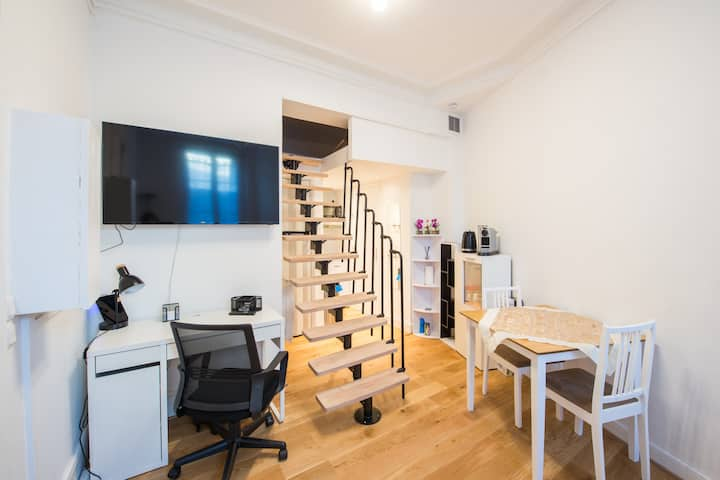Cozy studio completely renovated and comfortable