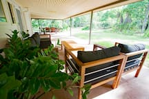 Wide shady verandahs for relaxed Territory style outdoor living