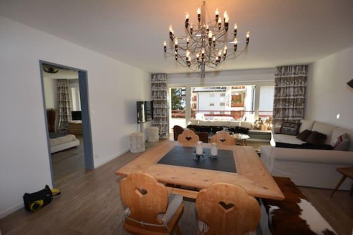 Möbelierte 2-Zimmerwohnung Zentrum Lenzerheide - Vaz/Obervaz