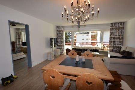 Möbelierte 2-Zimmerwohnung Zentrum Lenzerheide - Vaz/Obervaz - Apartament