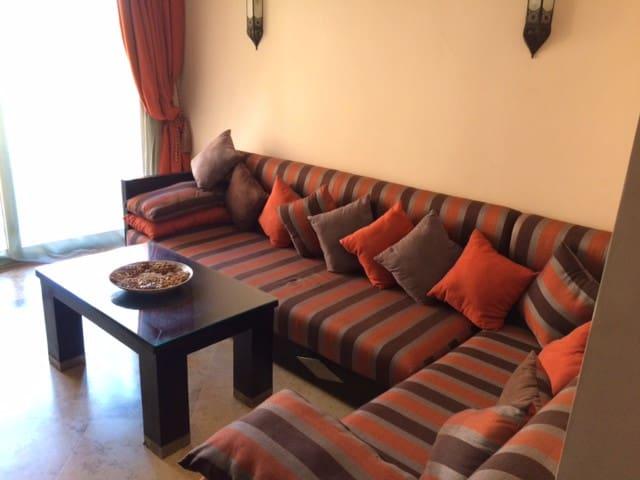Bel appartement face jardin majorelle avec piscine - Residence les jardins de majorelle marrakech ...