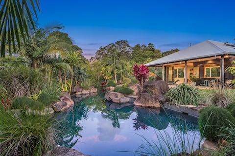Hidden Valley Guesthouse, Byron Bay.