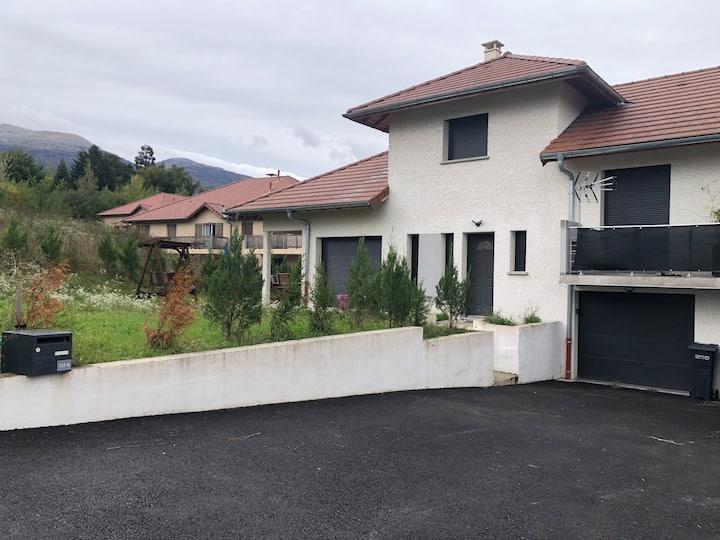 Villa Chevry vue sur le Mont-Blanc