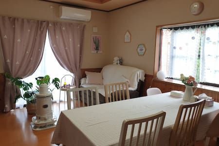 KAME HOUSE(카메하우스)2층마루방(최대4인) カメハウス2階フローリング部屋(最大4人)
