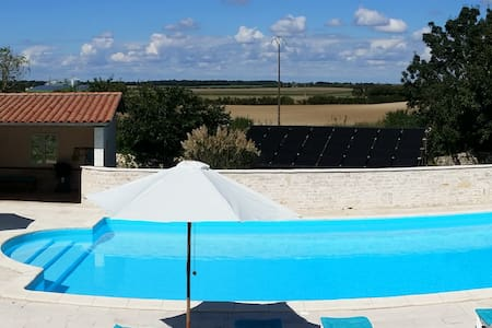 Gite 2  - Sunflowers - Charente-Maritime - Nature lodge