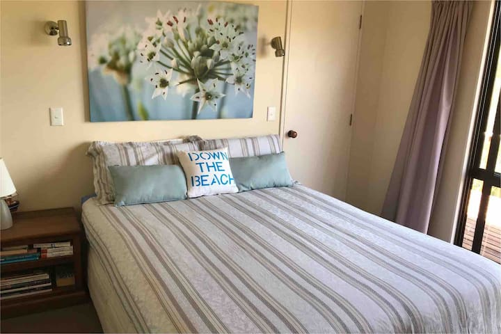 Main bedroom  -it has a seaview from the bed
