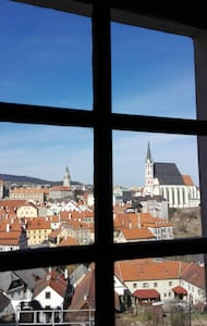 Best view apartment in the town centre - Český Krumlov - Appartement