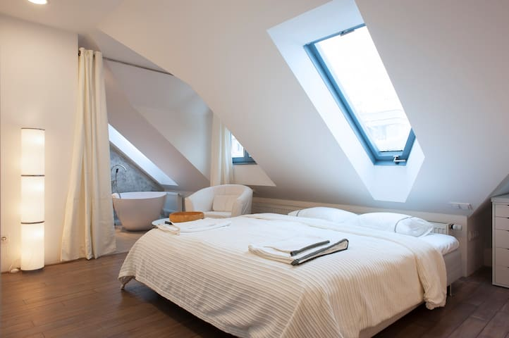 Charming room in Prague - Praga - Appartamento