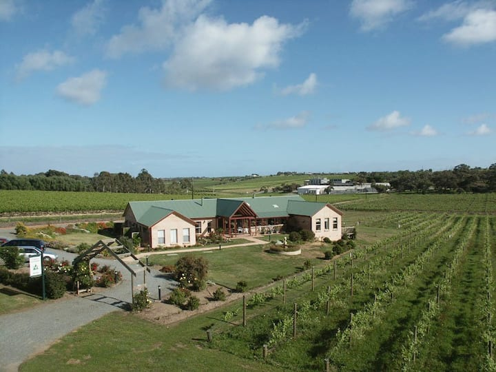 BYO Horse/Bike/Wine, McLaren Vale vineyard home