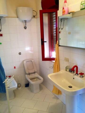 bagno 1° piano 1st floor bathroom