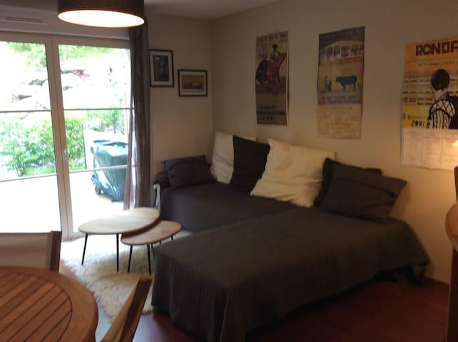Appartement T3 avec terasse bois / proche Bayonne - Lahonce - Apartment
