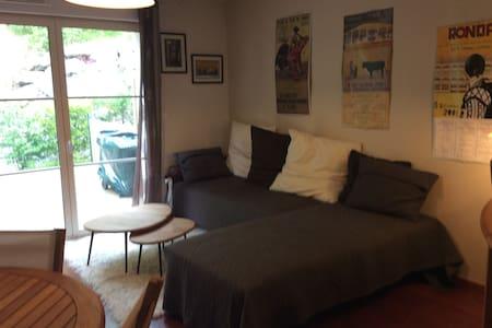 Appartement T3 avec terasse bois / proche Bayonne - Apartamento