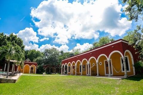 Hacienda Ticum: A slice of timeless Mexico Delux 4