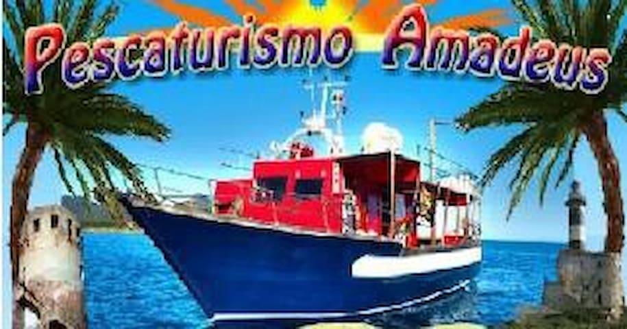 Amedeo Pesca Turismo Sardegna Porto Corallo