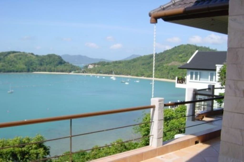 Very spacious balcony for some Andaman scenery