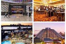 Casino Crown (less than 10 mins drive)