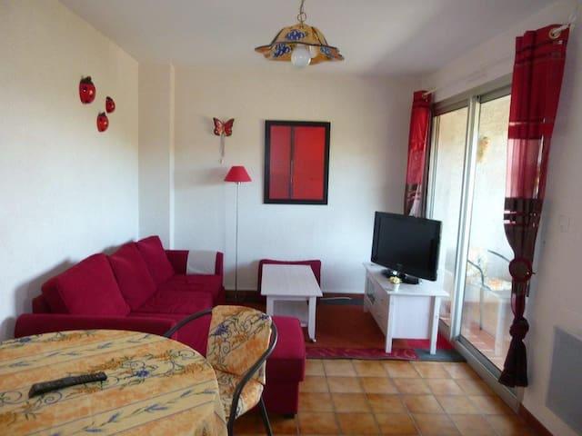 T2 coquet de  38 m² sur les hauteurs de Nyons - Nyons - Apartment