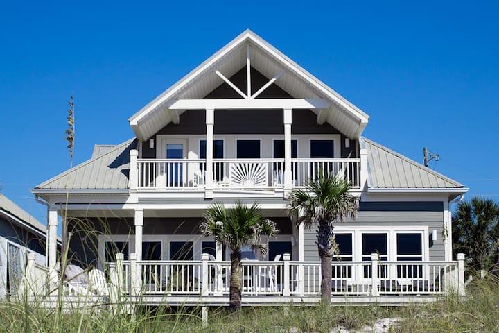 Beachfront Sleeps 16 5BR/4BA - Panama City Beach - Casa