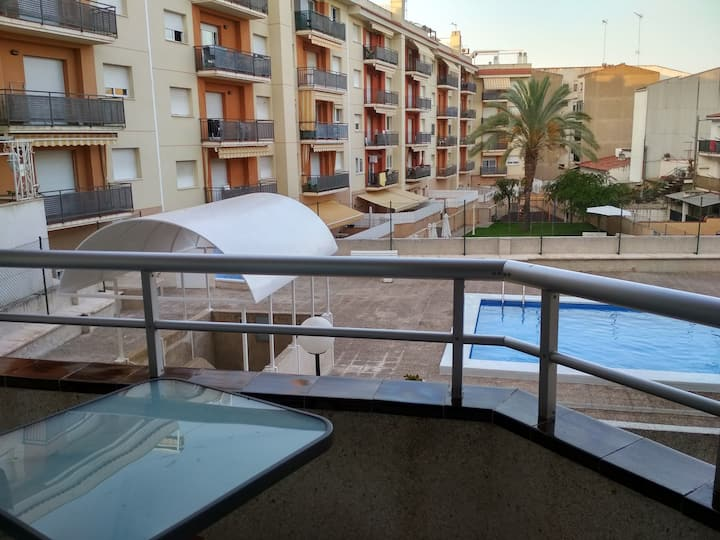 Apartamento con piscina en Torredembarra