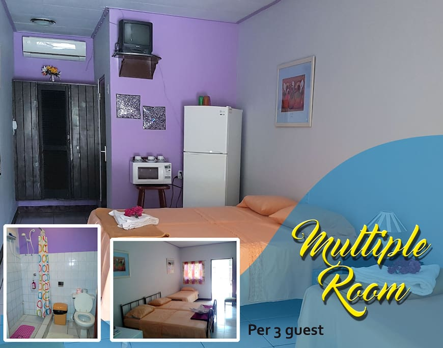 Multiple Room (per 3 - 6 guest)