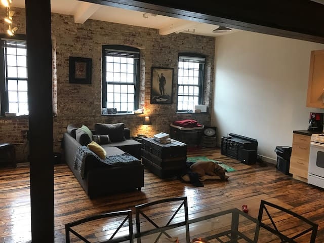 Federal Hill Two-Story Loft - Providence - Daire