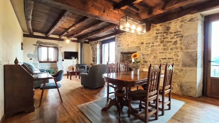 Casa amplia, acogedora y con vistas en Navarra