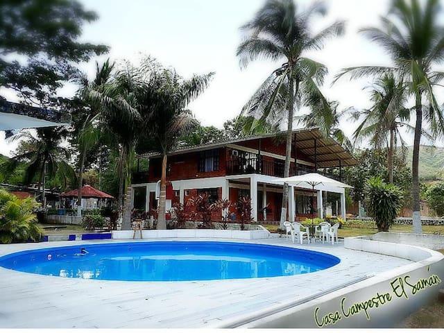 Casa Campestre El Samán