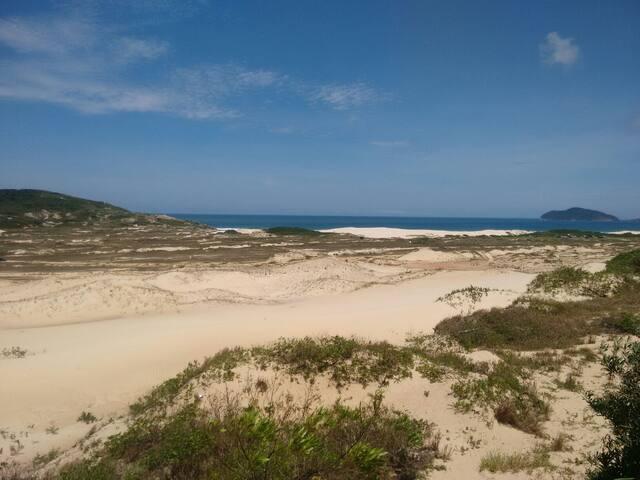 Casa Dunas - 300 metros da praia - Florianópolis - Casa